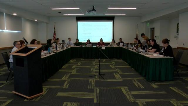 ASI Board Meeting 3-11-2020
