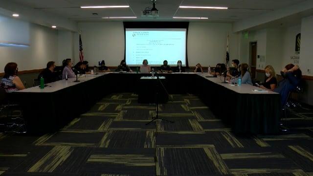 ASI Special Board Meeting 9-8-2021