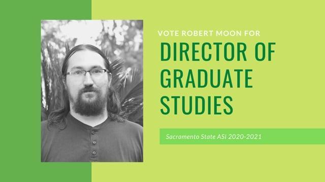 Director of Graduate Studies